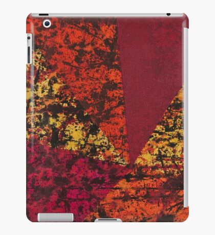 Corner Splatter # 7 iPad Case/Skin