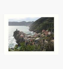 Vernazza, Le Cinque Terre Art Print