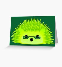 Vedgy, Broccoli Blades Greeting Card