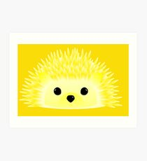Edgy the Hedgehog Art Print