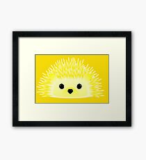Edgy the Hedgehog Framed Print
