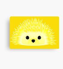 Edgy the Hedgehog Canvas Print