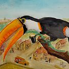 Olde Fashioned Toucan by Mark Young