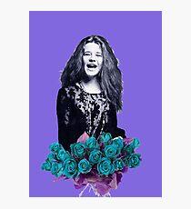 Janis - purple  Photographic Print