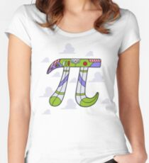 To Infinity Women's Fitted Scoop T-Shirt
