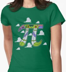 To Infinity Womens Fitted T-Shirt