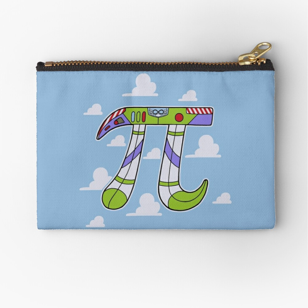 To Infinity Zipper Pouch