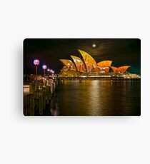 One of many.....A Vivid Opera House Canvas Print