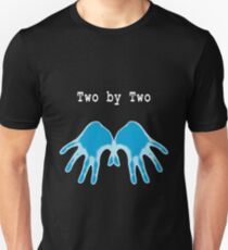 Hands of Blue (in Black) Unisex T-Shirt