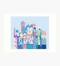 Tokyo Small World After All Art Print