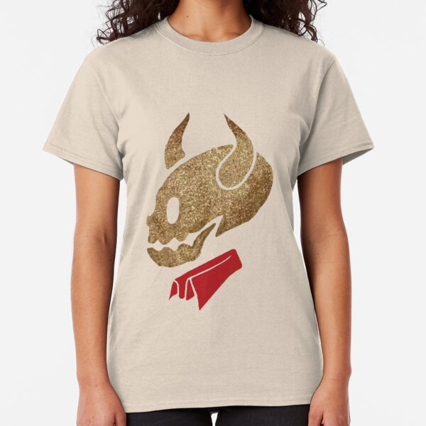 Glitter Devil Skull Classic T-Shirt