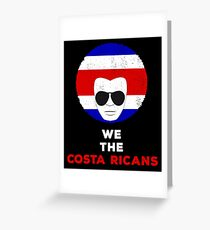 Costa rica drawing greeting cards redbubble we the costa ricans costa rica flag pride greeting card m4hsunfo
