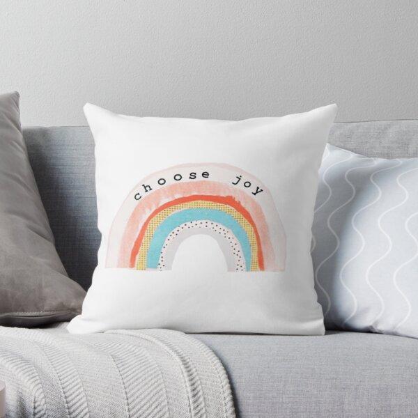 Choose Joy Throw Pillow