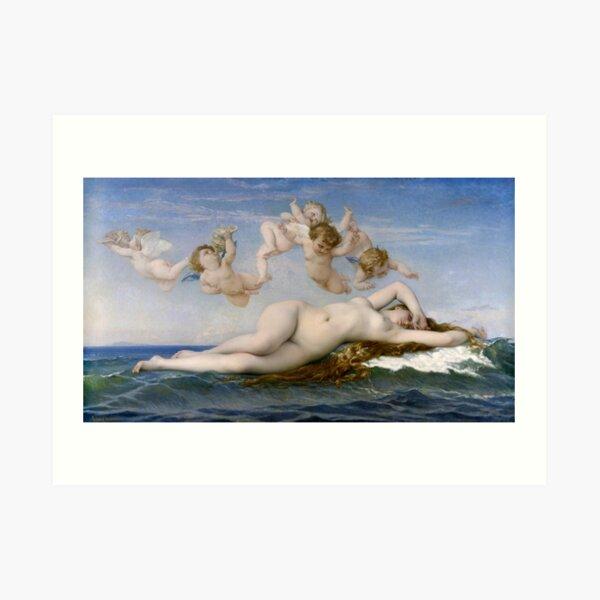 Alexandre Cabanel - The Birth of Venus - 1800s Art Print