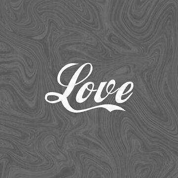 Love - Minimalist Print by Shrijit