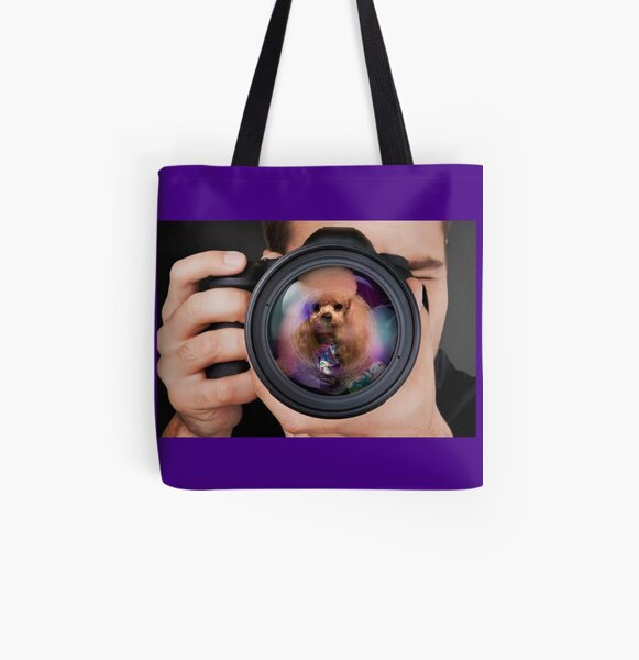 Ready for My Close Up... All Over Print Tote Bag