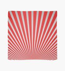 Red Japanisches Minimal Design Tuch