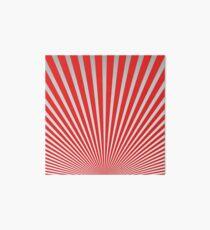 Red Japanisches Minimal Design Galeriedruck