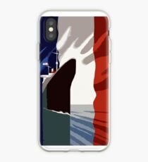 French 3d nautical travel design iPhone Case