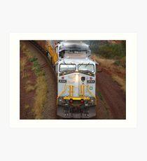 Iron Ore Train - Tom Price Art Print
