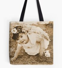 The Flower Fairy In A Game Of .........Ready ,Set ,Go! Tote Bag
