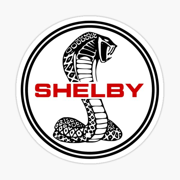 Shelby Cobra Sticker