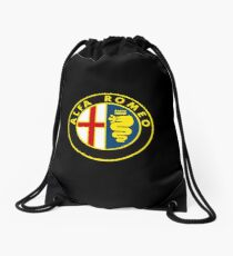 alfa romeo racing Drawstring Bag