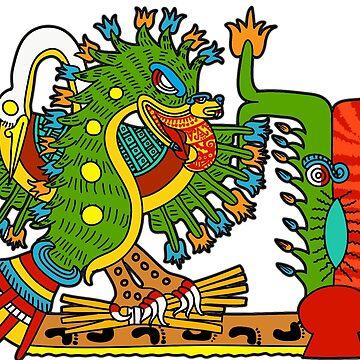 Kuauhtli Kuilaztlan, alochpan ahuehuetl by tecuani122112