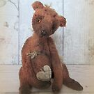 Vintage teddy bear Cornelius by Penny Bonser