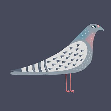 Pigeon by squirrell
