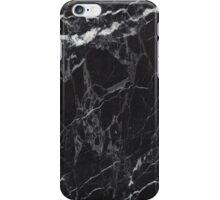 BLACK MARBLE iPhone Case/Skin