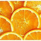 Orange is the happiest colour by Karen Tregoning