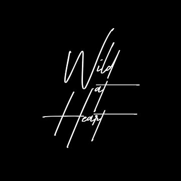 Wild at Heart 1 - Minimalist Print by Shrijit