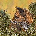 Ferny Fox by lottibrown