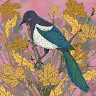 Magpie and Maple by lottibrown