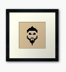 Retro Khal Drogo Framed Print