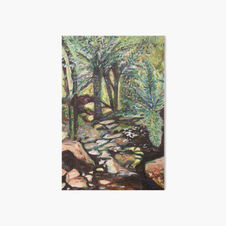 Tree Ferns Art Board Print