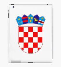 Coat of arms of Croatia iPad Case/Skin