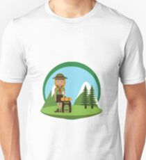 Backpacking Unisex T-Shirt