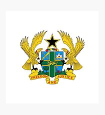 Coat of arms of Ghana Photographic Print