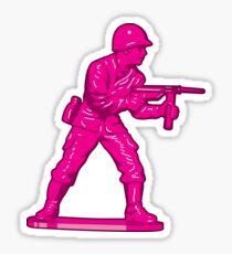 Toy Soldier [pink] Sticker