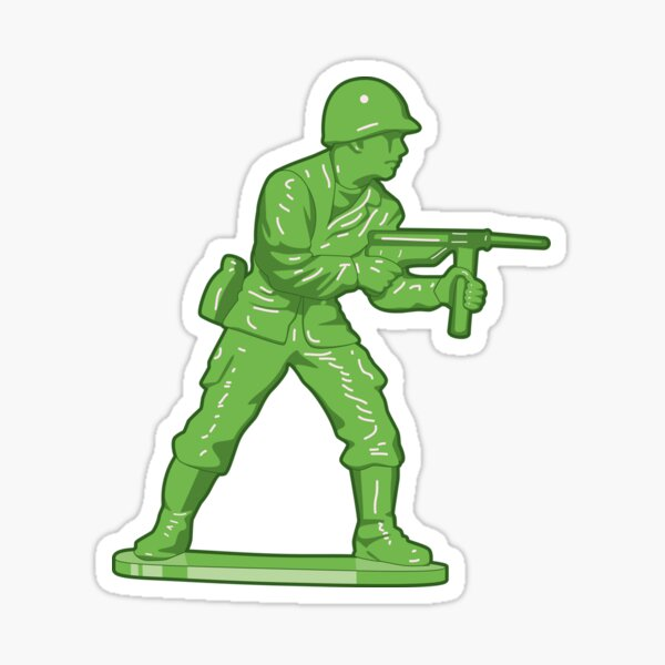 Toy Soldier Sticker