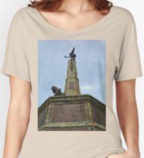 Aberystwyth war memorial Women's Relaxed Fit T-Shirt