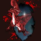 Little dragon in red by Andrea Tiettje
