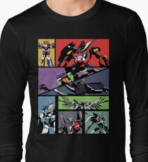 Super Robots Long Sleeve T-Shirt
