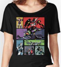 Super Robots Women's Relaxed Fit T-Shirt