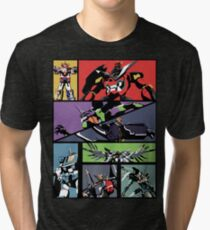 Super Robots Tri-blend T-Shirt