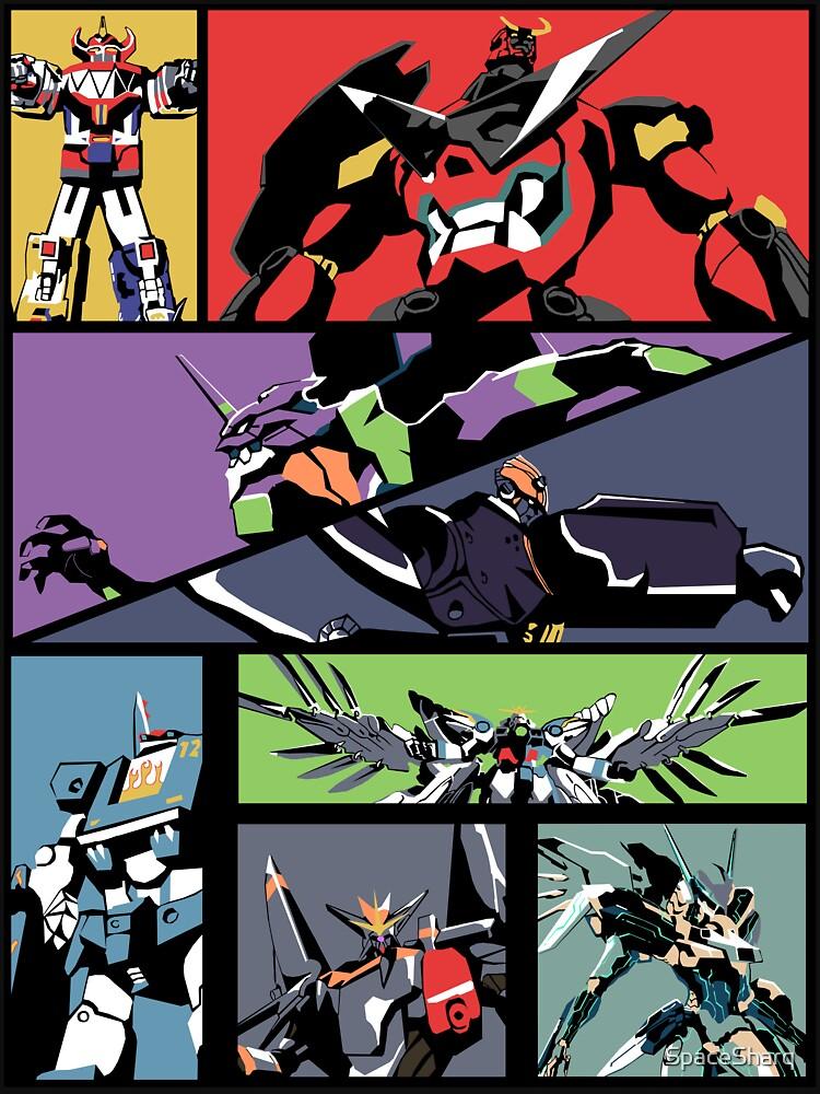 Super Robots by SpaceSharq