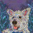 West Highland Terrier by lottibrown
