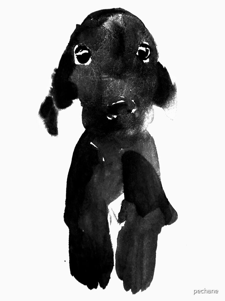 black dog by pechane